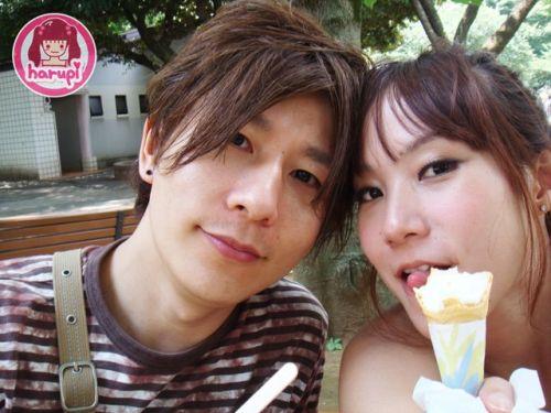 20090805_harupi_uenozoo_icecream_twoshot