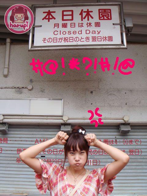 20090805_harupi_uenozoo_zoo_closed