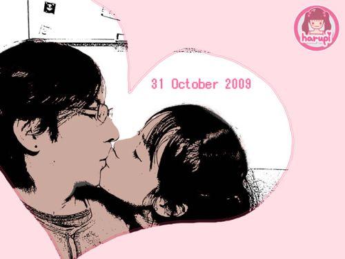 20091031_1st_anniversary_kiss