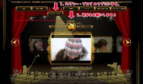 YouTube Video Awards Japan 2010 - harupi