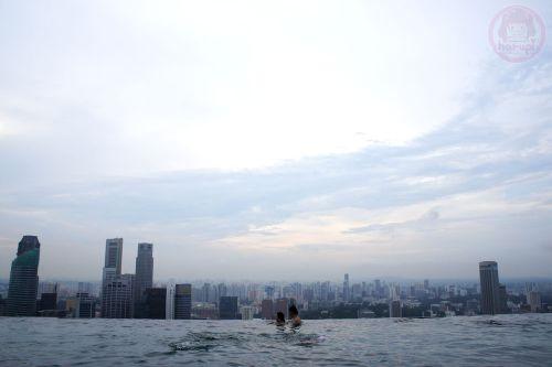 Marina Bay Sands hotel - Skypool, Skypark