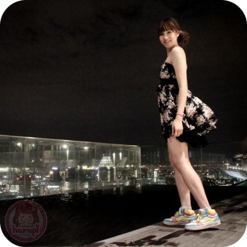 Marina Bay Sands - night skypark