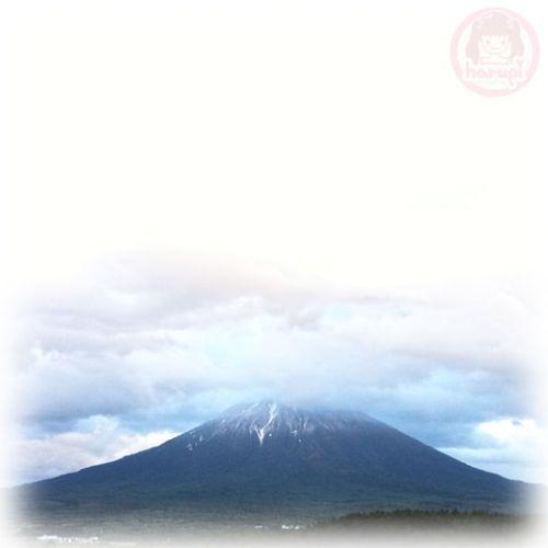 First snow 2011 at Niseko, Mt.Yotei