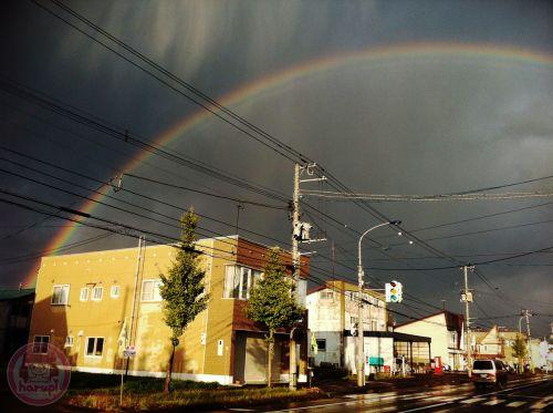 Rainbow in Niseko