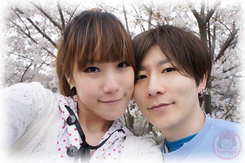 Haruka and Yasu sakura two-shot 1