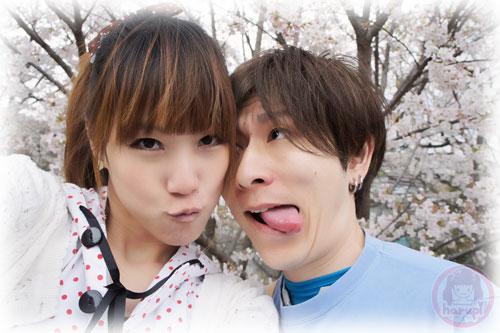 Haruka and Yasu sakura two-shot 2