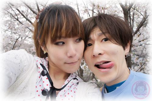 Haruka and Yasu sakura two-shot 3