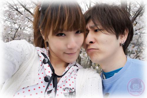 Haruka and Yasu sakura two-shot 5