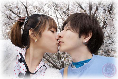 Haruka and Yasu sakura two-shot 6
