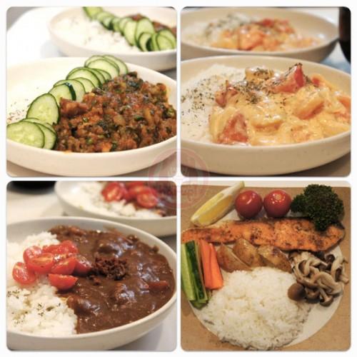 Rice plates (ライスプレート)