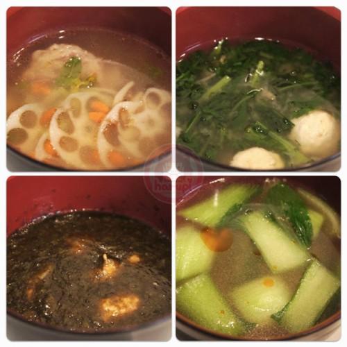 Soups (汁物)