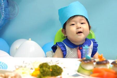 Yuto 1st Birthday - itadakimasu!