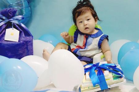 Yuto 1st Birthday - birthday present time