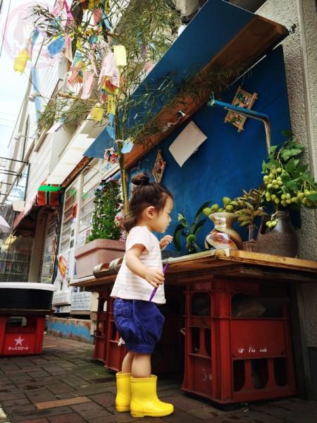 Tanabata setting 七夕の風景
