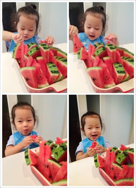 Watermelon for dessert