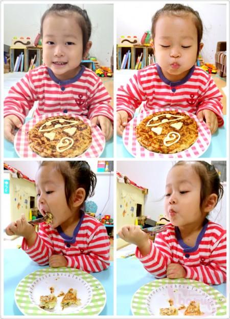 Nom nom nom the Halloween okonomiyaki