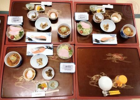 Breakfast in Nushiyu Inn ぬ志勇旅館で朝ごはん