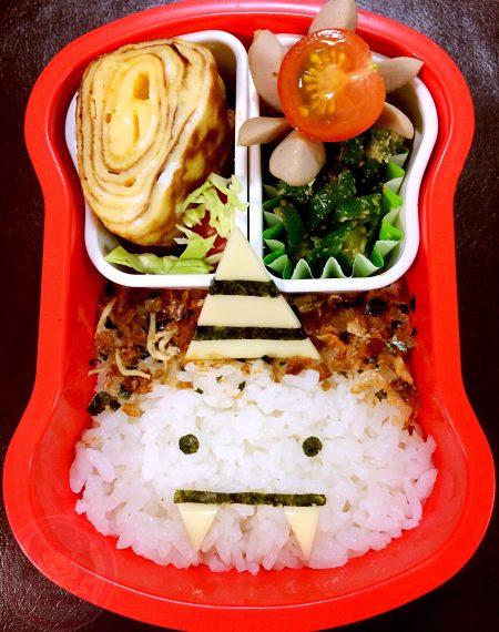 Setsubun lunckbox 節分のお弁当、鬼