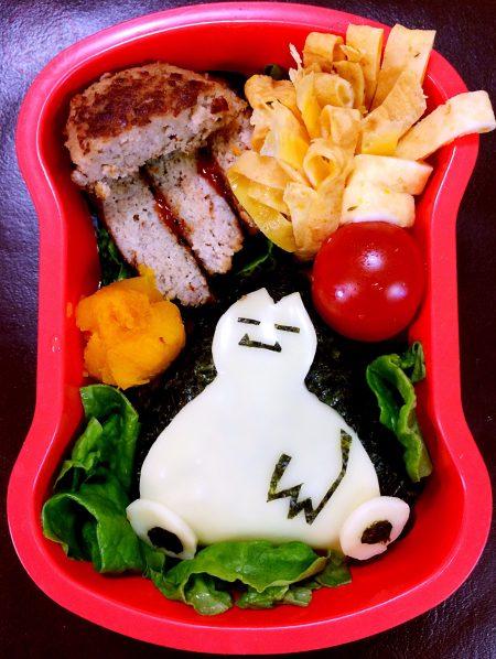 Snorlax lunchbox カビゴンのお弁当