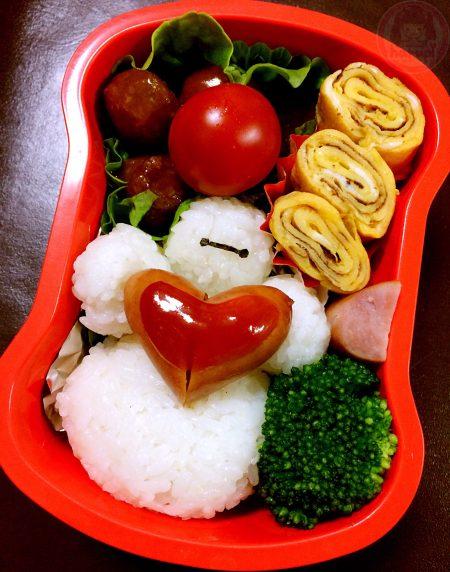 Baymax with love lunchbox ベイマックスのお弁当